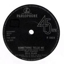 "Cilla Black - Something Tells Me (Something's Gonna Happen Tonight) - 7"" Record"