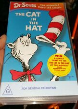 Dr Seuss The Cat In The Hat Animated VHS VIDEO 💜 💜 💜 FAST POST