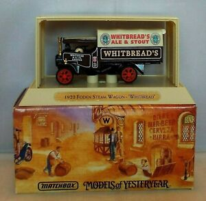MATCHBOX COLLETIBLES YGB11 Foden Steam Wagon WHITBREAD Great Beers ISSUE 2