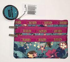 NWT LeSportsac Hawaii Exclusive Sirena 3 Zip Cosmetic Bag Mermaid 7158 K298 -P2