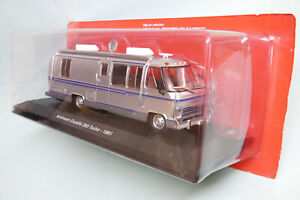 IXO / Greenlight / Hachette - Camping-Car AIRSTREAM EXCELLA 280 TURBO 1981 Neuf