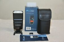 Flashpoint Zoom Flash for Sony Cameras w/ Box _ Free flash diffuser *** NEW ***