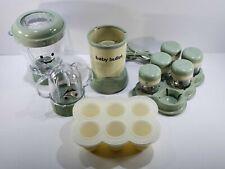 Baby Bullet Magic Bullet Blender Baby Food Processor Making System Set