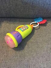 Playskool Busy Glow Flashlight - Busy Basics - Multi Use Toy - 6 Months GUC