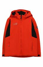 EA7 EMPORIO ARMANI Kinderjacke Winterjacke Jacke Jungen Orange Gr. 128  OVP NEU