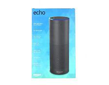 New Amazon Echo Black Bluetooth Speaker Alexa Enabled Far Field 1st Generation