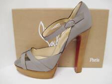 NIB CHRISTIAN LOUBOUTIN QUEPI RECI 140 PLTFORM Shoes 41