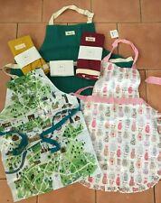 Harrods Adult Apron BNWT-100% cotton apron-Westie or PVC coated apron + more