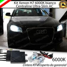 KIT XENON XENO H7 AC 6000K CANBUS AUDI A3 8P, 8PA SPORBACK RESTYLING NO ERRORE