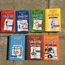 Diary Of A Wimpy Kid Mixed  Book Bundle- x7 Children's Books- 4 X PB + 3 X HB