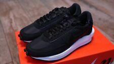 Nike ld Waffle sacai Black nylon | tamaño 44 | us 10