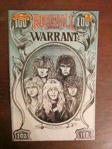 Rock 'n' Roll Comics #10 - Warrant, Whitesnake -Revolutionary Comics -Garcia art