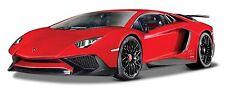 Bburago 1:24 Lamborghini Aventador LP750-4 SV Racing Car Vehicle Diecast Model