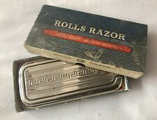 Vintage 1950's Rolls Razor Viscount Vintage Super Blade Hollow Ground Razor