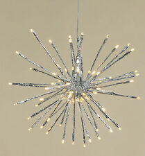 Stern beleuchtet 30 cm 64 LED für Außen (121130) Weihnachtsdeko