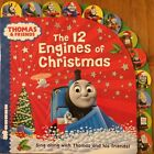 THOMAS & FRIENDS THE 12 ENGINES OF CHRISTMAS (Board book, 2014) BRAND NEW