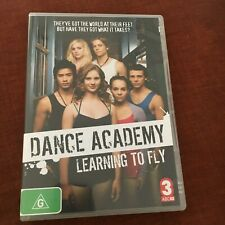 DANCE ACADEMY DVD. LEARNING TO FLY. ABC.