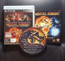 Mortal Kombat Komplete Edition (Sony PlayStation 3, 2011) PS3 Game - FREE POST