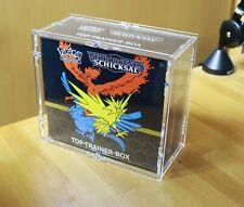 Pokemon Acryl Schutzbox für Top Elite Trainer Box Weg des Champs & Hidden Fates