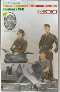 Dragon WWII Panzer Allemand Ras, Figurines 1/35 6655 Avec / Bonus 'Guderian' St