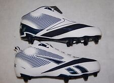 Mens Football Cleats REEBOK U Form Mid SD4 4 Speed Blue White Size 14