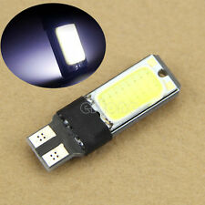 10x T10 w5w Led COB Car Light Fog Lamp Interior Canbus Error Free Bulb White 12V