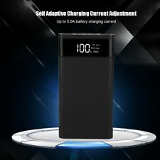 Portable 5V 9V 12V 18650 DIY Type-C Two-way Fast Charging Power Bank Case Box
