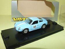 FIAT ABARTH 1000 N°42 LE MANS 1962 VEREM 440 1:43 Arrivée 51ème Abd