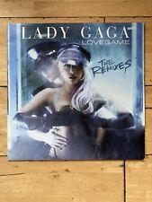 "Lady Gaga - LoveGame (The Remixes) [RARE 12"" US Vinyl LP 2009]"