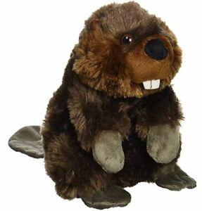 Wild Republic 30cm Beaver Plush Cuddly Soft Toys Kids Gifts Christmas Age UK