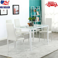 Glass Modern Dining Furniture Sets For Sale In Stock Ebay