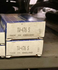 Engine Crankshaft Thrust Washers Fits Jaguar 6 cyl 1988-90 v12 1971-1993