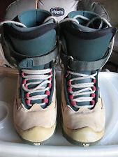 Women's Burton Snowboarding Boots Size 5 Wheat Leather