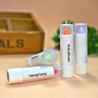 Waterproof Magic Fruity Smell Changable Color Lipstick Lip Cream 1pcs New New