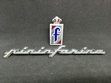 Peugeot 306 Cabrio 406 Schriftzug Pininfarina mit Emblem selten Fiat Alfa Italia