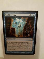MTG. ARCHIVE TRAP (2). ZENDIKAR. RARE. NM/M. MAGIC THE GATHERING