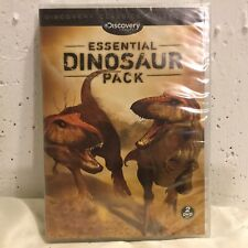 Discovery Channel's ESSENTIAL DINOSAUR PACK DVD SET - NEW / SEALED - FAST SHIP