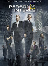 Person of Interest: The Complete Fourth Season (DVD, 2015, 6-Disc Set)