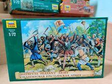 ZVEZDA 8059 - Medieval Peasant Army - 1:72 neuf