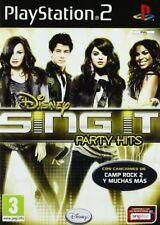 Playstation 2 PS2 Disney Singstar Sing It Party Hits Game Spiel Karaoke PEGI Neu