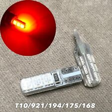 Parking Light T10 6 SMD LED Wedge 194 2825 168 12961 W5W 175 RED W1 JAE