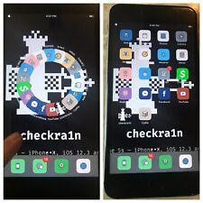 iOS 12 JAILBROKEN Apple iPhone 6S PLUS 16gb Checkra1n Jailbreak 6S + WIFI ONLY!