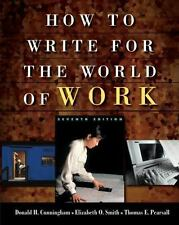 Thomson Advantage Books: How to Write for the World of Work