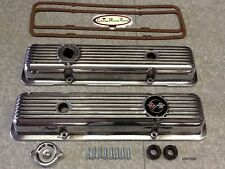 69-74 CAMARO Z28 & LT1 69-77 CORVETTE  POLISHED ALUMINUM VALVE COVER KIT COVERS
