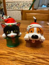 Solar Powered Dancing Bobble Head Toy 2020 - CHRISTMAS Puppy Dog & Kitty Cat