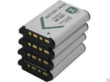 New 4x Battery NP-BX1 For Sony DSC-HX300 RX1 RX100 IV M2 RX1B HDR-GW66E NPBX1
