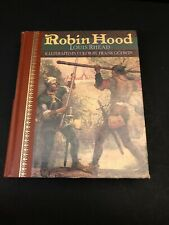 Robin Hood Louis Rhead Illustrated By Frank Godwin 1988 Edt Children's Classic