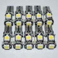 T10  Led Canbus Error Free 5 SMD Car Side Wedge White light Bulb 168 194 W5W 10X