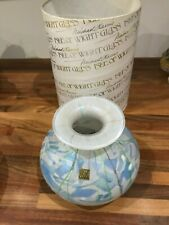 Isle of Wight Glass Vase Michael Harris