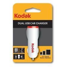 Cargador Mechero Doble USB - Entrada 12 / 24 V - Salida 5V / 2.4A - Coche Camion